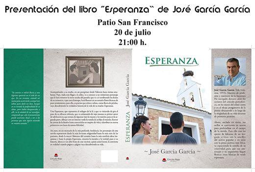 José García firmará ejemplares de su novela