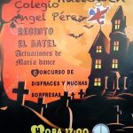 Fiesta de Halloween organizada por el AMPA del CEIP Ángel Pérez