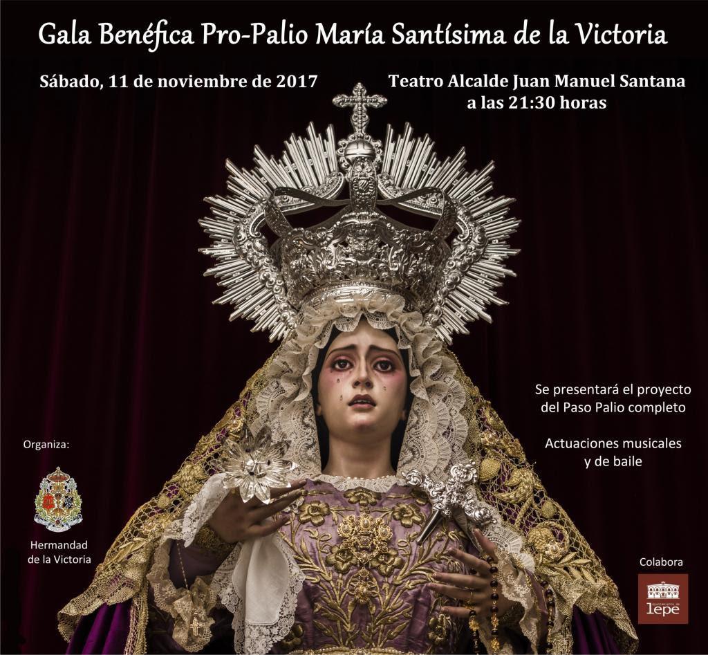 Gala Flamenca a beneficio del proyecto Pro-Palio de la Virgen de la Victoria de Lepe