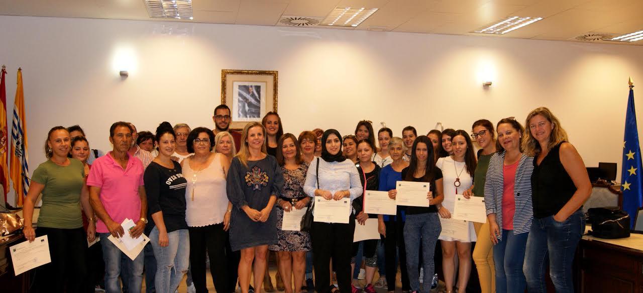Entregadas las certificaciones de los Programas Emple@ Joven y Emple@ +30 de la Junta