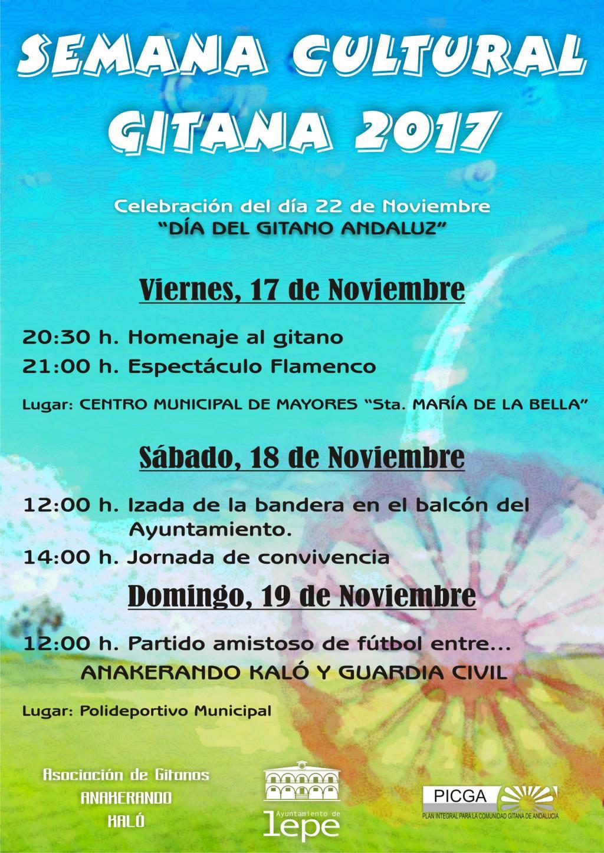El ayuntamiento de Lepe y la asociación Anakerando kaló presentan la programación de la semana cultural gitana 2017