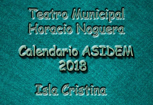 ASIDEM presenta en Isla Cristina el calendario 2018