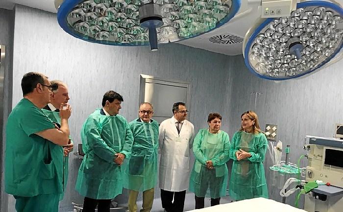 El Hospital Infanta Elena de Huelva estrena dos nuevos quirófanos