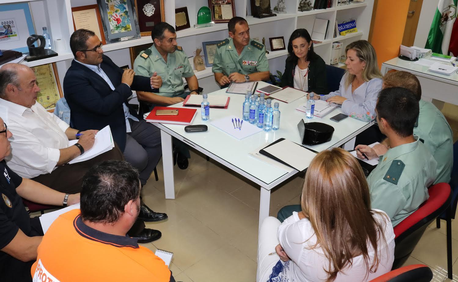 Celebrada en Isla Cristina la Junta Local de Seguridad de cara a la celebración de los Tosantos