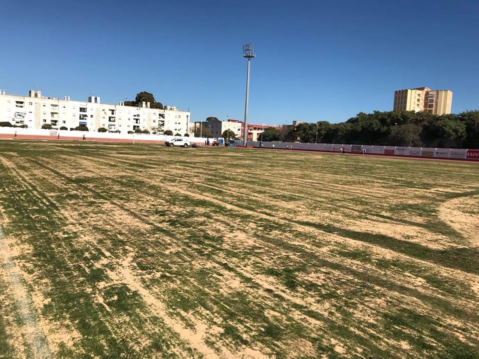Comienzan las obras del Estadio Municipal de Fútbol de Isla Cristina