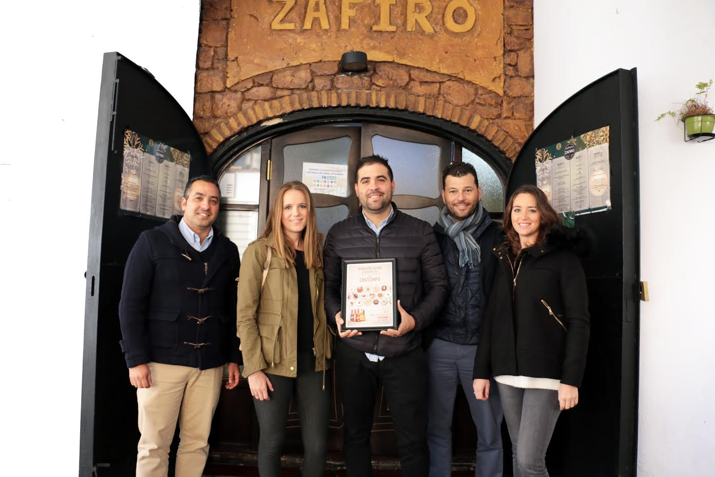 La Bodeguita Zafiro ha sido la ganadora de la Ruta Gastronómica de la Tapa celebrada durante la semana del Festival de Cine de Huelva
