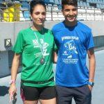 """Boufeljat y Lidia Rodríguez ganan en Alosno la Carrera """"Cuna del Fandango"""""""
