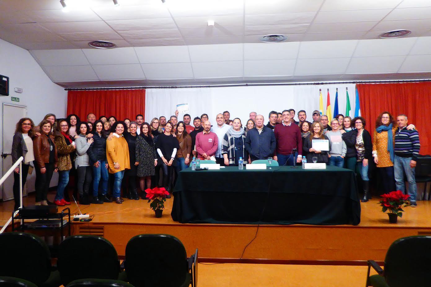 Clausura de tres cursos del XX Plan Agrupado de Formación Continua de la Mancomunidad de Islantilla