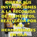 Mercadona cierra sus instalaciones a la solidaridad de las hermandades de Isla Cristina