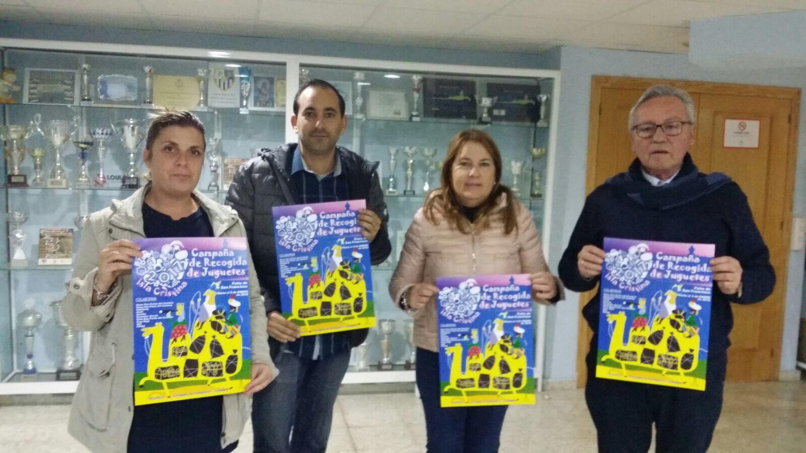 Radio Maratón Solidario en Isla Cristina para recaudar juguetes para el día de Reyes