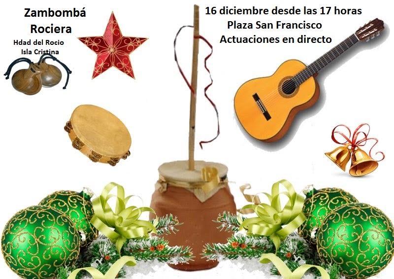 Zambomba Rociera de la Hermandad del Rocío de Isla Cristina