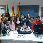 El Consejo Infantil de Infancia y Adolescencia visita Radio Isla Cristina y algunas instalaciones municipales