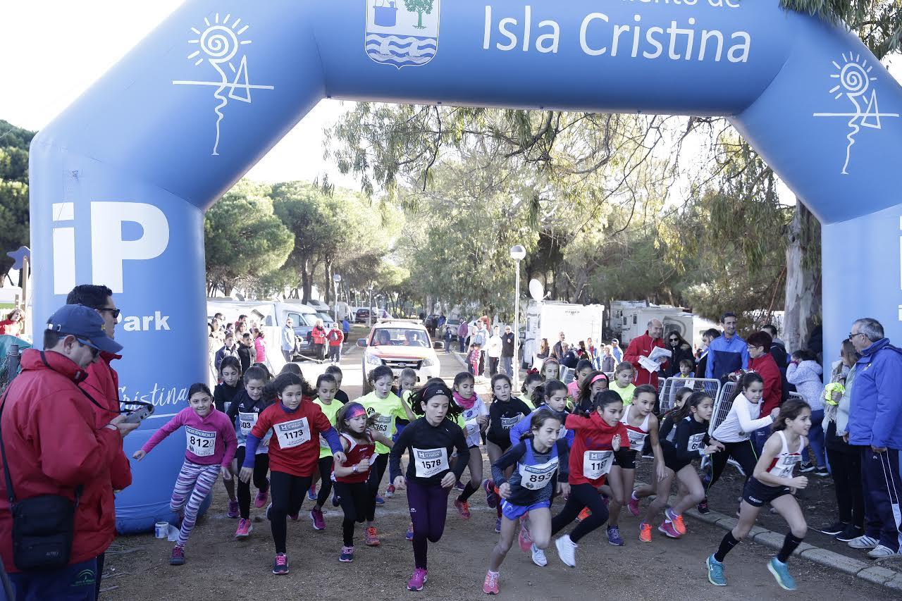 Celebrada la XX Edición del Cross Pinares de Isla Cristina