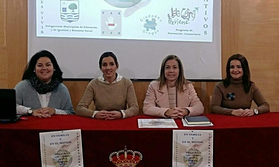 Presentado en Isla Cristina el programa educativo sobre