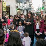 Presentados los escaparate con las imágenes de las Corte del Carnaval de Isla Cristina 2018