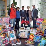 'Huelva es solidaria' consigue batir récord en su recogida anual de juguetes por Navidad