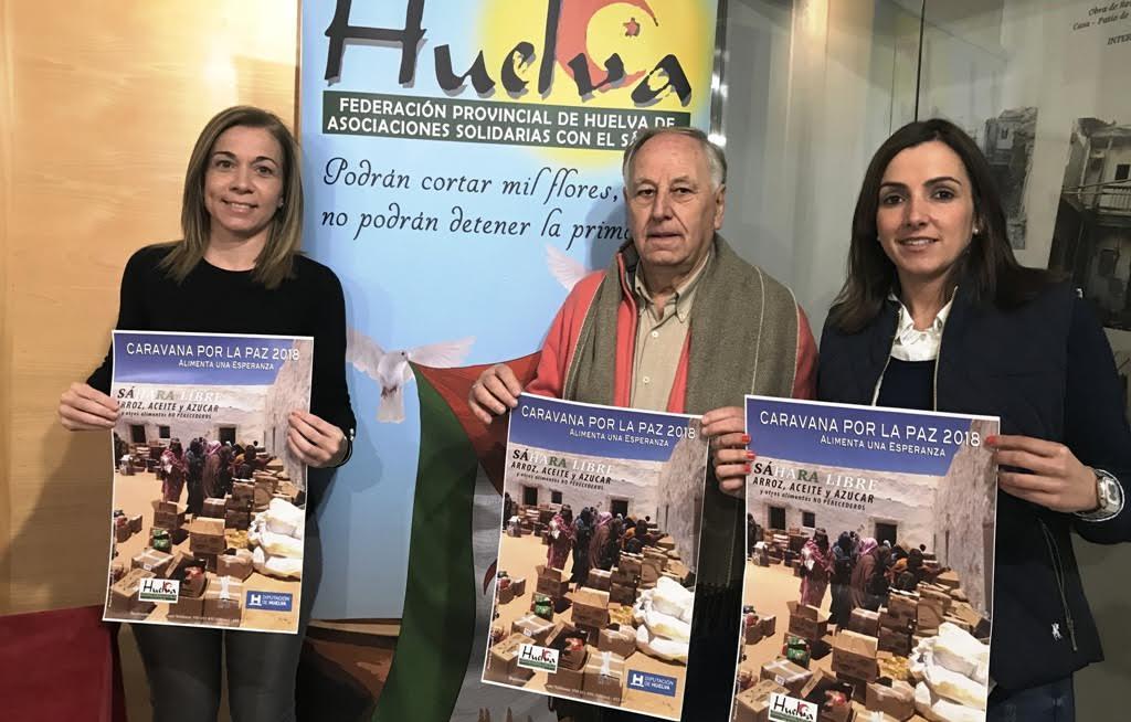 El ayuntamiento pide alimentos en nombre de la Caravana por la Paz para el Sahara