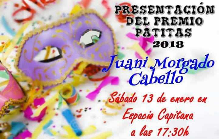 Espacio Capitana de Isla Cristina acoge el próximo sábado la Presentación del premio Manuel Fragoso