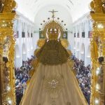 Peregrinación oficial de la Hermandad del Rocío de Isla Cristina  al Santuario de la Virgen del Rocío