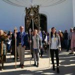 La Hermandad del Rocío de Isla Cristina realiza su Peregrinación Oficial a la Aldea Almonteña