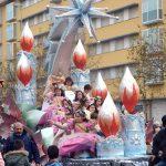 La lluvia no impidió que los Reyes Magos llegaran a Isla Cristina