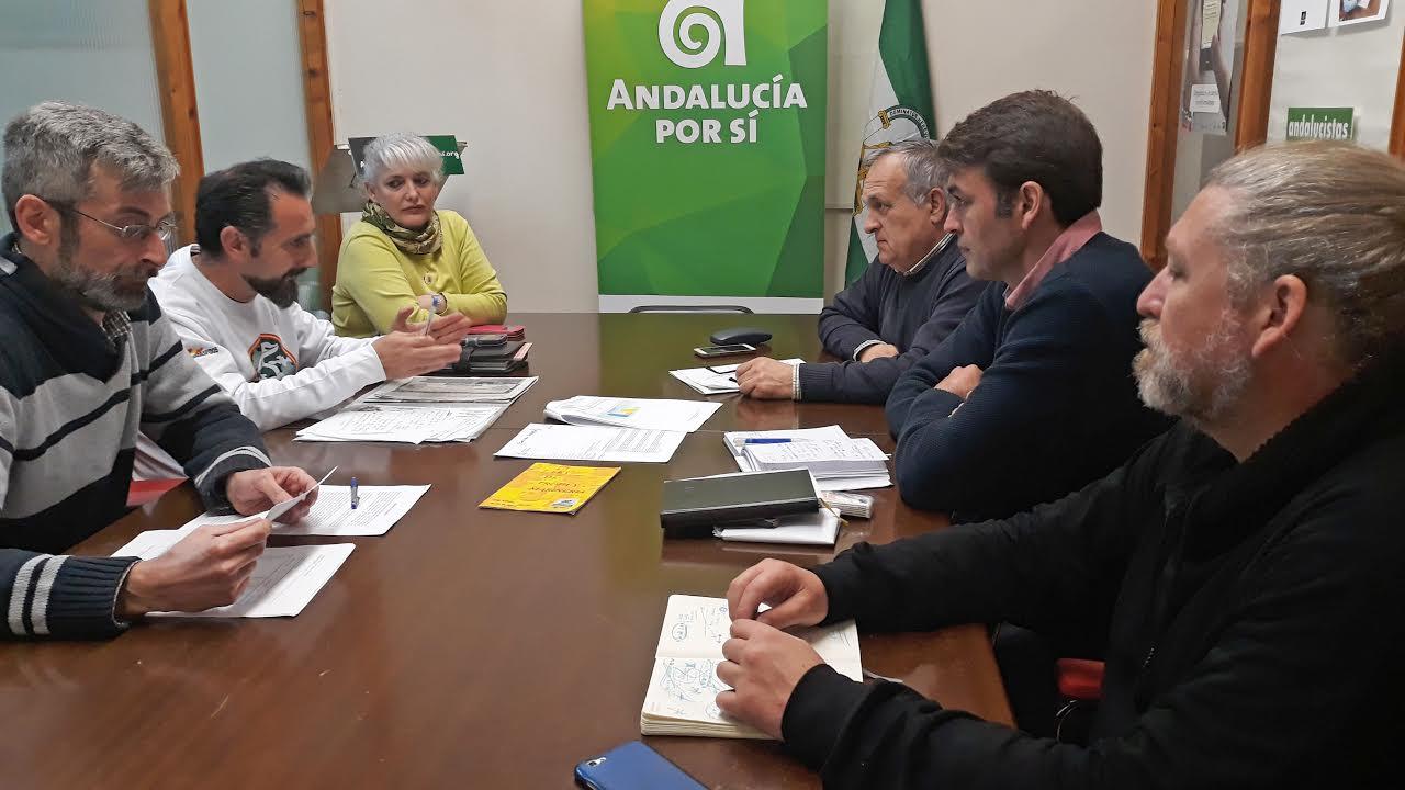 Reunion de AxSi con colectivo '45 sin despidos'