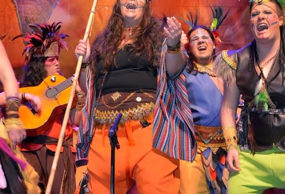 """Comparsa """"Amazonia"""" en el Carnaval de Isla Cristina 2018"""
