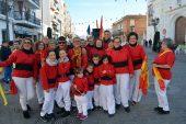 lunes de disfraces en el Carnaval de calle de Isla Cristina 2018