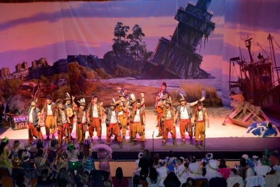 """Comparsa """"El ultimo isleño"""" en el Carnaval de Isla Cristina 2018"""