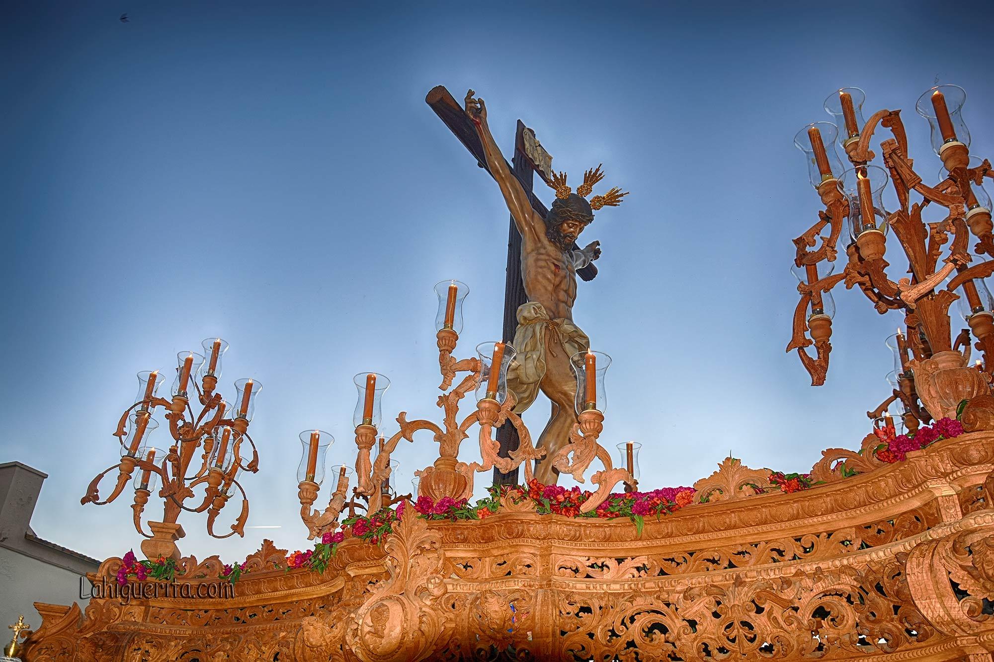 Itinerario de la Procesión del Cristo de la Buena Muerte de la Semana Santa de Isla Cristina 2019