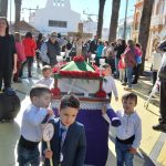 Las Escuelas Infantiles precesionan por Isla Cristina