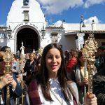 La Hermandad del Rocío de Isla Cristina peregrina con la Hermandad del Rocío de Huelva
