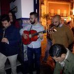 Kalandraque canta la salve rociera en la Casa Hermandad del Rocío de Isla Cristina