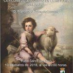 Francisco José Zamudio Barroso en los Martes Culturales de Isla Cristina