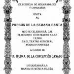 Pregón de la Semana Santa de Isla Cristina 2018