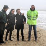 Isla Cristina solicita al Gobierno central ayuda urgente para un litoral isleño destrozado por el temporal
