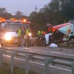Un fallecido tras el choque entre dos vehículos en la carretera que va hacia Isla Cristina