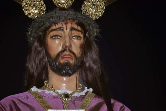 Procesión de la hermandad del Cautivo en la Semana Santa de Isla Cristina 2018