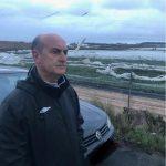 El Alcalde de Lepe muestra su preocupación por los efectos del tornado que ha afectado a diversas zonas del municipio