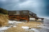 Vendaval en la Playa de Islantilla