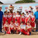 El Mini masculino del CB Isla Cristina 4º puesto en la Copa Covap en Bonares