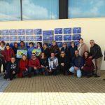 Se descubren las placas de los premiados durante el pasado carnaval de Isla Cristina