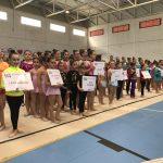 La gimnasia rítmica de Isla Cristina presente en el programa