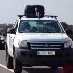 Robo y destrozos en el pabellón y se llevan el Ford Ranger Picuk del Servicio Municipal de Deportes de Isla Cristina