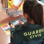 La Guardia Civil esclarece ocho delitos cometidos por la misma persona en Isla Cristina