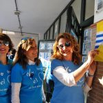 Una Marea Azul de niños inundó las calles isleñas