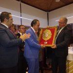 Homenaje al pregonero del Rocío Carmelo Fernández Faneca