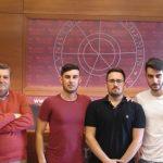 El equipo de la UHU, medalla de plata en el I Concurso Nacional de Dirección Estratégica Empresarial