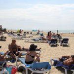 Visita técnica del Servicio Provincial de Costas a la Playa de Islantilla