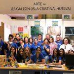 La Concejala de Educación isleña acompaña a los escolares a la Feria de la Ciencia de Sevilla